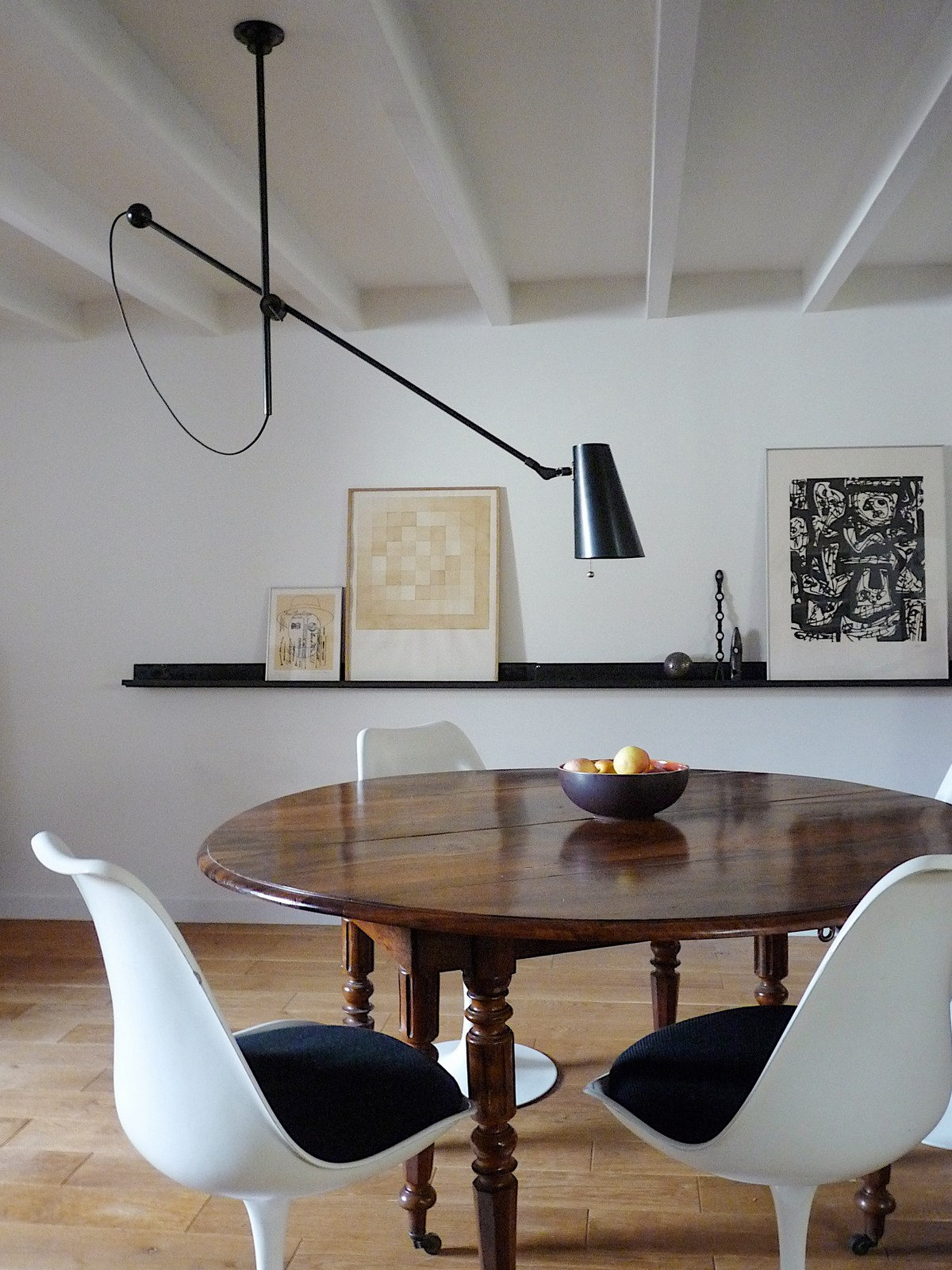 Pendant adjustable chandelier black patina