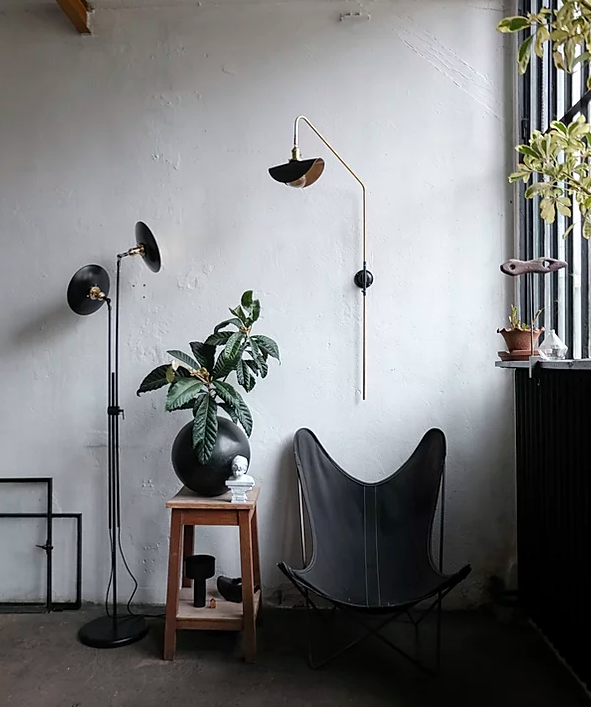 plante, chaises et luminaires wo and we
